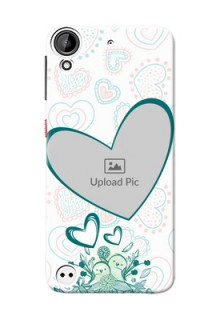 HTC Desire 530 Couples Picture Upload Mobile Case Design