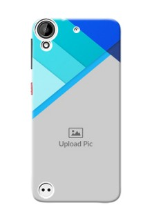 HTC Desire 530 Blue Abstract Mobile Cover Design