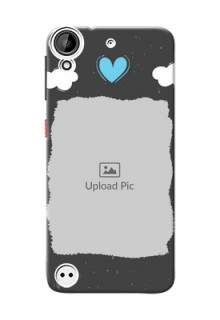 HTC Desire 530 splashes backdrop with love doodles Design