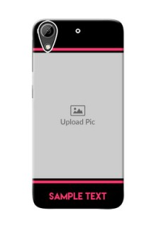 HTC Desire 626 Photo With Text Mobile Case Design