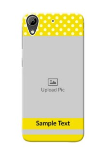HTC Desire 626 Bright Yellow Mobile Case Design