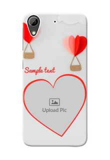 HTC Desire 626 Love Abstract Mobile Case Design