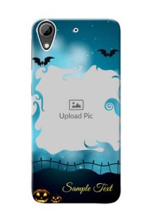 HTC Desire 626 halloween design with designer frame Design