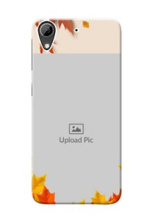 HTC Desire 626 autumn maple leaves backdrop Design
