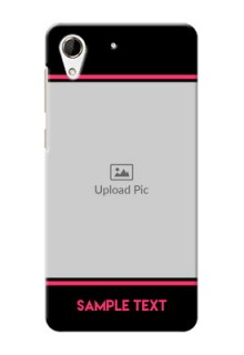 HTC Desire 728 Photo With Text Mobile Case Design