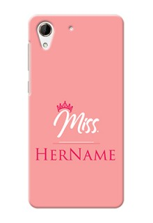 Htc Desire 728 Custom Phone Case Mrs with Name