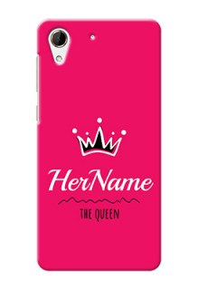 Htc Desire 728 Queen Phone Case with Name
