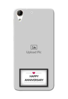 HTC Desire 728G Happy Anniversary Mobile Cover Design