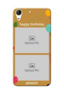 HTC Desire 728G 2 image holder with birthday celebrations Design