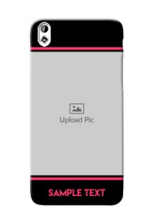 HTC Desire 816 Photo With Text Mobile Case Design