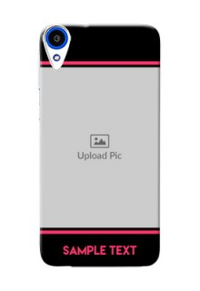 HTC Desire 820 Photo With Text Mobile Case Design