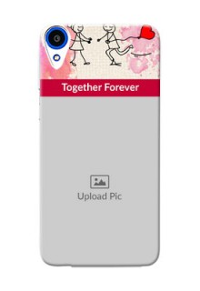 HTC Desire 820 Just You And Me Mobile Back Case Design