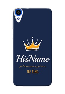 Htc Desire 820 King Phone Case with Name