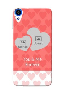 HTC Desire 820s Couples Picture Upload Mobile Cover Design