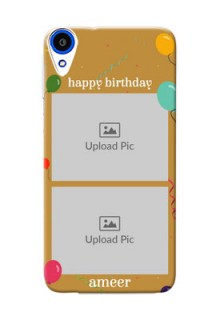 HTC Desire 820s 2 image holder with birthday celebrations Design