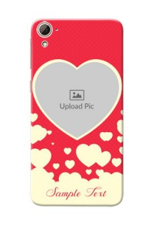 HTC Desire 826 Love Symbols Mobile Case Design