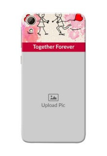 HTC Desire 826 Just You And Me Mobile Back Case Design