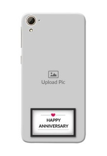 HTC Desire 826 Happy Anniversary Mobile Cover Design