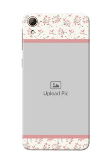 HTC Desire 826 Floral Design Mobile Back Cover Design