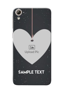 HTC Desire 826 Hanging Heart Mobile Back Case Design
