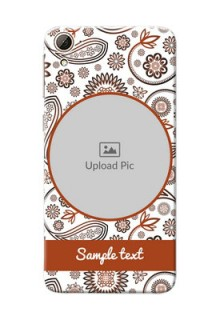 HTC Desire 826 Floral Abstract Mobile Case Design
