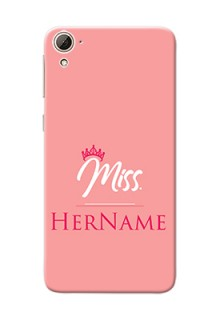 Htc Desire 826 Custom Phone Case Mrs with Name