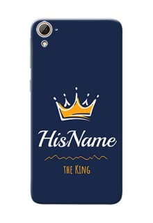 Htc Desire 826 King Phone Case with Name