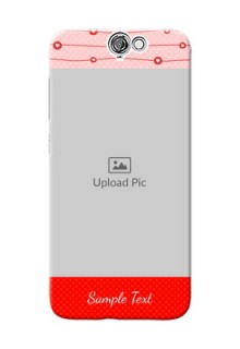 HTC Desire One A9 Red Pattern Mobile Case Design