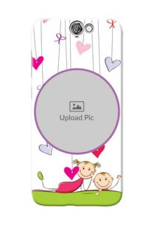 HTC Desire One A9 Cute Babies Mobile Cover  Design