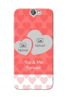 HTC Desire One A9 Couples Picture Upload Mobile Cover Design