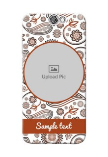 HTC Desire One A9 Floral Abstract Mobile Case Design