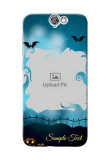 HTC Desire One A9 halloween design with designer frame Design