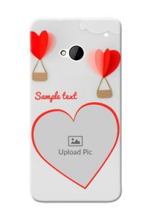 HTC Desire One M7 Love Abstract Mobile Case Design