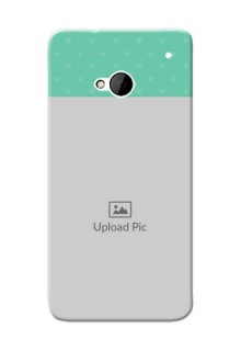 HTC Desire One M7 Lovers Picture Upload Mobile Cover Design