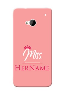 Htc Desire One M7 Custom Phone Case Mrs with Name