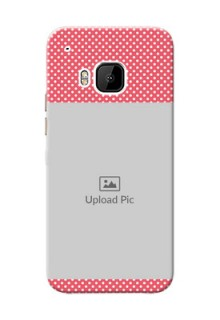 HTC Desire One M9 White Dots Mobile Case  Design