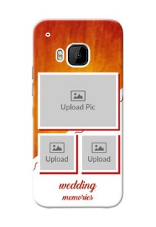HTC Desire One M9 Wedding Memories Mobile Cover Design