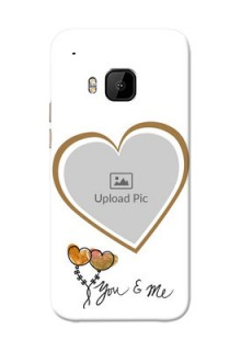 HTC Desire One M9 You And Me Mobile Back Case Design