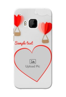 HTC Desire One M9 Love Abstract Mobile Case Design