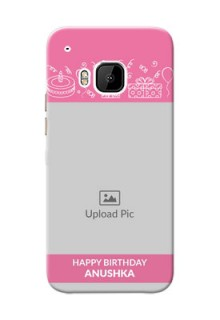HTC Desire One M9 plain birthday line arts Design Design