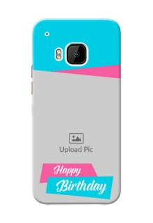 HTC Desire One M9 2 image holder with 2 colour Design