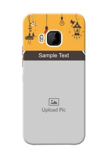 HTC Desire One M9 my family design with hanging icons Design