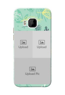 HTC Desire One M9 family is forever design with floral pattern Design