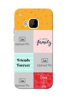 HTC Desire One M9 4 image holder with multiple quotations Design