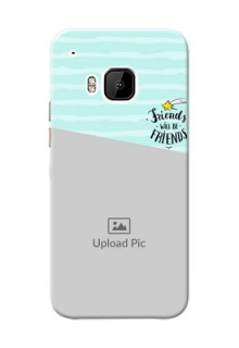 HTC Desire One M9 2 image holder with friends icon Design