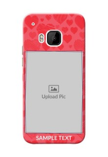 HTC Desire One M9 multiple hearts symbols design Design Design