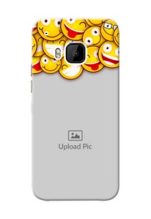 HTC Desire One M9 smileys pattern Design Design