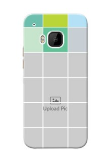 HTC Desire One M9 white boxes pattern Design Design