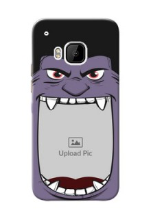HTC Desire One M9 angry monster backcase Design