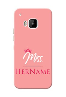 Htc Desire One M9 Custom Phone Case Mrs with Name